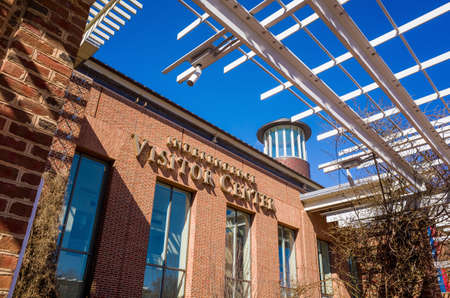 cultural artifacts: Independence Visitor Center in Philadelphia