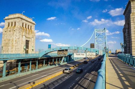 ben franklin: Ben Franklin Bridge, Philadelphia