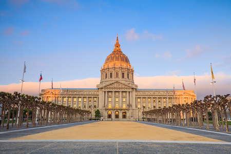 san fran: San Francisco City Hall at sunrise
