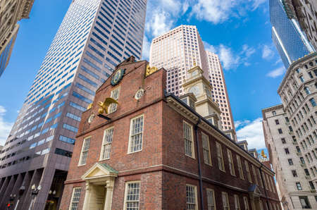 Old State House à Boston, Massachusetts, USA Banque d'images - 29309357