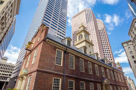 Old State House in Boston, Massachusetts, USA photo