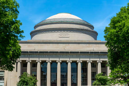 CAMBRIDGE, USA - MAY 30: The Great Dome of MIT in Cambridge, MA on May 30, 2014.  MIT's Great Dome has had pride of place in the Institute's iconography since 1916