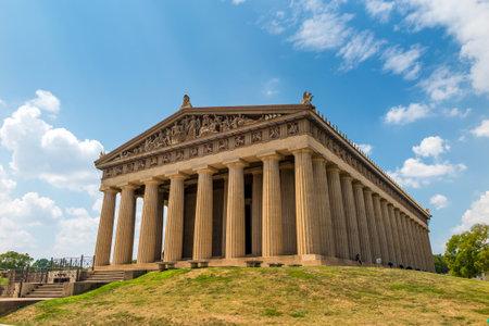 centennial: Partenone Replica al Centennial Park di Nashville, Tennessee, Stati Uniti d'America. Editoriali
