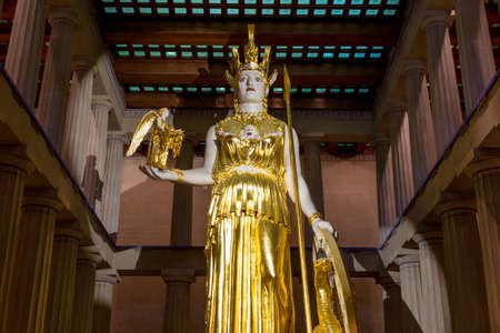 featured: The Parthenon Nashville Tennessee Athena featured