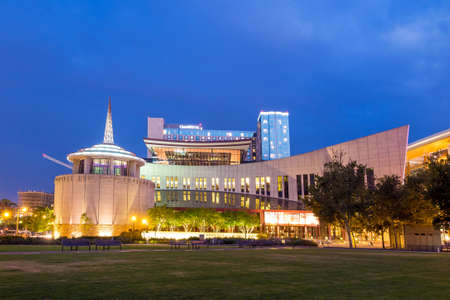 tn: NASHVILLE - August 1: Country Music Hall of Fame and Museum August 1, 2014 in Nashville, TN. It opened in 1961 and preserves the evolving history and traditions of country music. Editorial