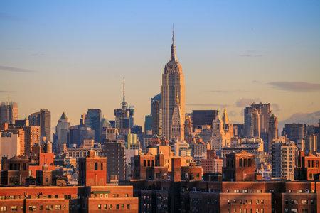 city skyline: New York City Skyline USA
