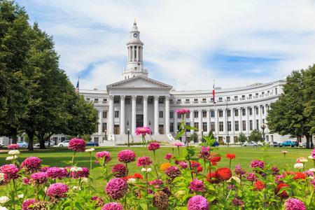 colorado city: City Hall in downtown of Denver, Colorado. Editorial