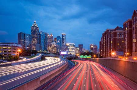 Skyline of Downtown Atlanta, Georgia, USA photo