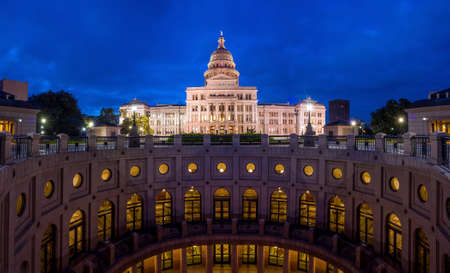 Texas State Capitol Building in Austin, TX. at twilight Stock Photo - 36660925