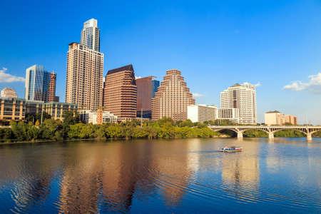capital of colorado: view of Austin, Texas downtown skyline