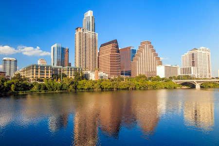 colorado skyline: view of Austin, Texas downtown skyline