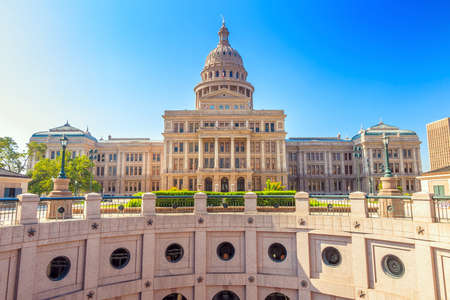 downtown capitol: Texas State Capitol Building in Austin, TX.
