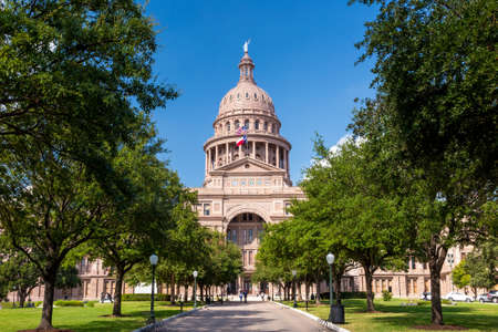 Texas State Capitol Building in Austin, TX. Stock Photo - 36661031