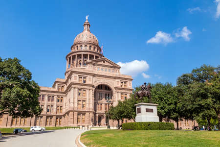tx: Texas State Capitol Building in Austin, TX.