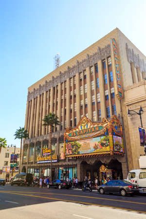 kodak: LOS ANGELES - OCTOBER 25: Dolby Theatre (Kodak Theatre) is home of Academy Awards (popularly known as the Oscars) as seen in Los Angeles (Hollywood) on October 25, 2014 Editorial