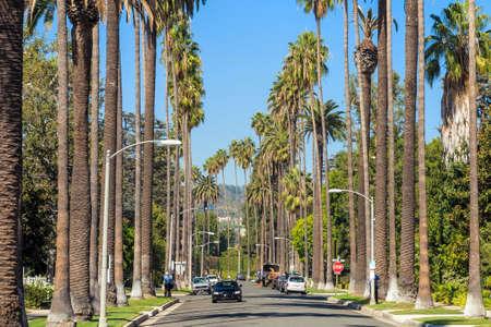 ビバリー ・ ヒルズ、カリフォルニアの通り