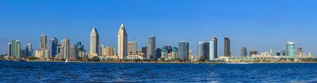 Panorama of Downtown of San Diego, California, USA Editorial