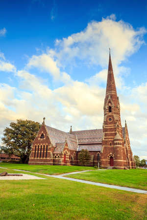 good shepherd: The Church of the Good Shepherd Episcopal, Gothic church in New England Stock Photo