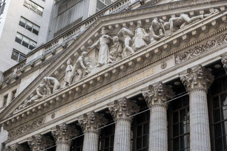 nasdaq: NEW YORK CITY - FEB 11: The New york Stock Exchange on February 11, 2015 in New York. It is the largest exchange in the world by market capitalization.