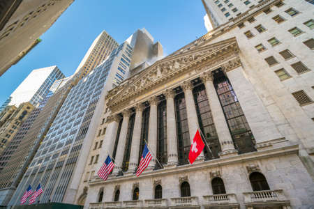new york stock exchange: NEW YORK CITY - FEB 11: The New york Stock Exchange on February 11, 2015 in New York. It is the largest exchange in the world by market capitalization.