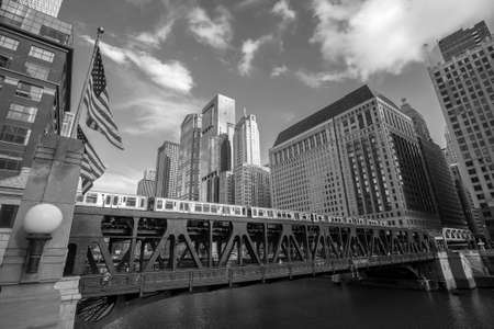 chicago: Chicago downtown and Chicago River