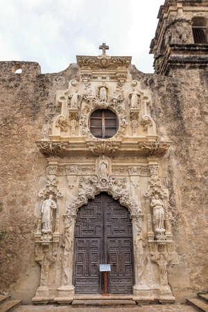 san jose: Mission San Jose is a historic Catholic mission in San Antonio, Texas, USA