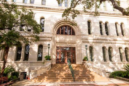 City of San Antonio City Hall, Texas Imagens