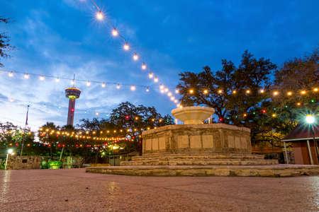 River Walk in San Antonio, Texas USA Stock Photo