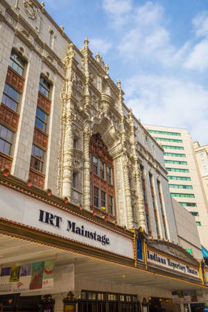 abbreviated: INDIANAPOLIS, INDIANA, April 14, 2015: Indiana Repertory Theatre, frequently abbreviated IRT, is a professional regional theatre in Indianapolis Editorial