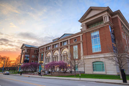 describes: INDIANAPOLIS, INDIANA, April 14 : The Indiana Historical Society on April 14, 2015 It is one of the United States oldest and largest historical societies and describes itself as Indianas Storyteller Editorial