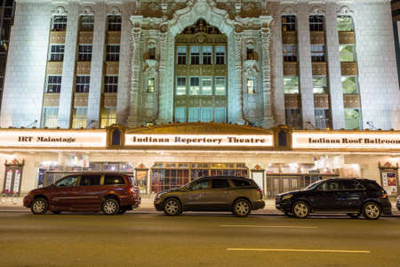 abbreviated: Indianapolis, Indiana, 14 Apr 2015: Indiana Repertory Theatre, IRT spesso abbreviato, � un teatro regionale professionale a Indianapolis