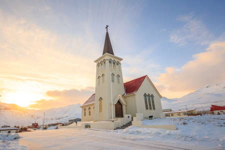the old church: Old  church building in Iceland