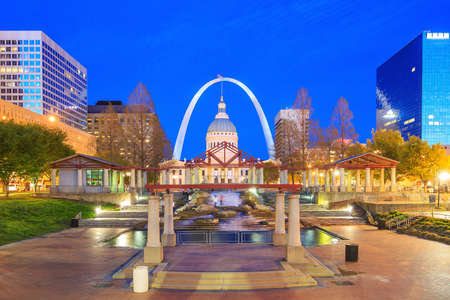 louis: Old Courthouse in downtown St. Louis.