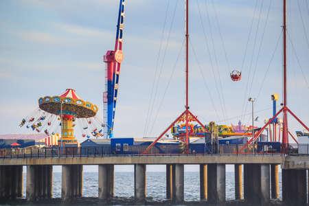 atlantic city: The Steel Pier at Atlantic City in New Jersey