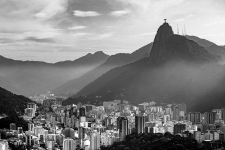 rio de janeiro: Night view of  Rio de Janeiro Brazil