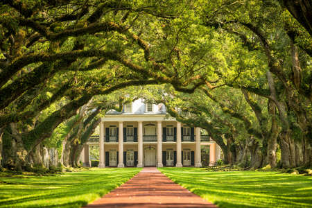 Oak Alley Plantation, Louisiana Editorial