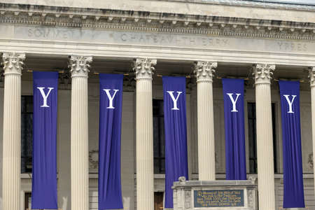 18 month old: Yale University graduation ceremonies on Commencement Day on May 18, 2015.