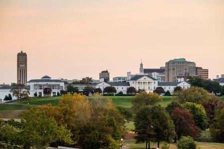 Government building in Richmond VA, USA