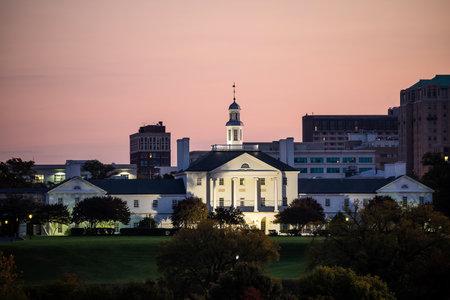 va: Government building in Richmond VA, USA