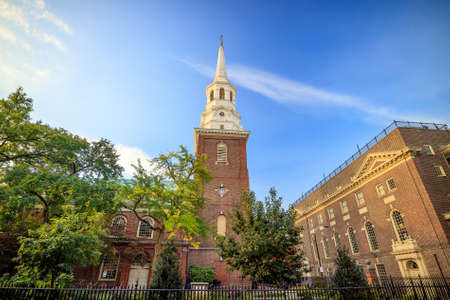 episcopal: Christ Church in Philadelphia, Pennsylvania, America.