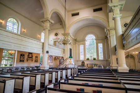 congregation: Christ Church in Philadelphia, Pennsylvania, America.