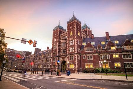 University of Pennsylvania in Philadelphia, Pennsylvania USA 報道画像