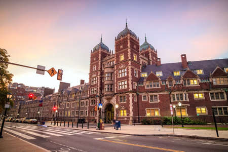university building: University of Pennsylvania in Philadelphia, Pennsylvania USA Editorial