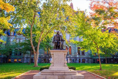 University of Pennsylvania in Philadelphia, Pennsylvania USA 에디토리얼