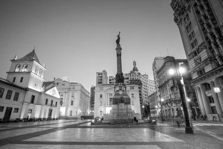 law of brazil: Patio do Colegio square in Sao Paulo, Brazil. Editorial