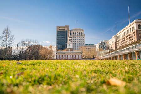 Independence Hall in Philadelphia, Pennsylvania USA Stock Photo