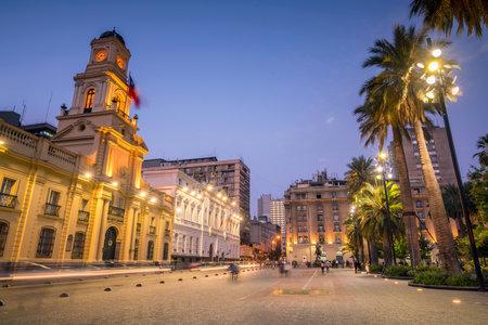 サンティアゴ, チリのデ ラス アルマス広場