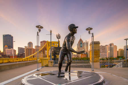 northeast ohio: PITTSBURGH, USA - OCT 30: PNC Baseball Park in Pittsburgh, Pennsylvania on October 30, 2016. PNC Park has been home to the Pittsburgh Pirates since 2001. Editorial
