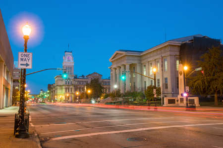 kentucky: The old City Hall  in downtown Louisville, Kentucky USA Stock Photo