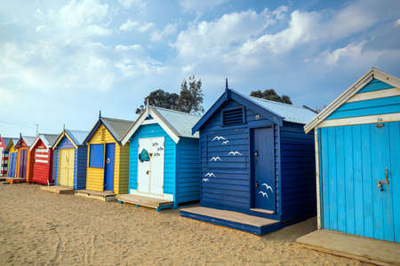 Colorful Beach House a Brighton Beach a Melbourne Australia